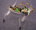 Simple robot made in a Fablab